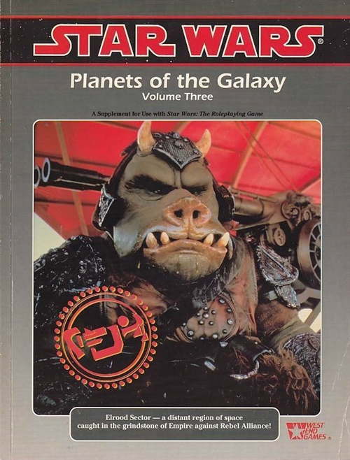 Star Wars D6 Planets of the Galaxy vol. 3 (B Grade) (Genbrug)